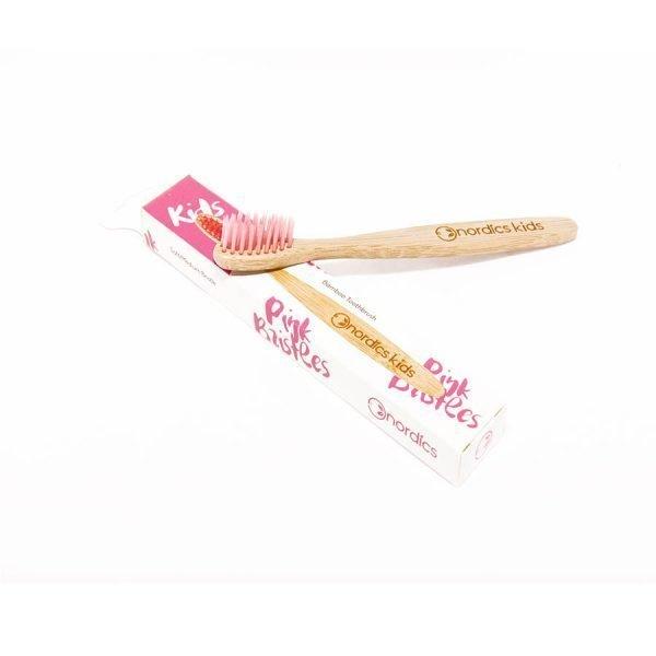 Kids' pink bristles