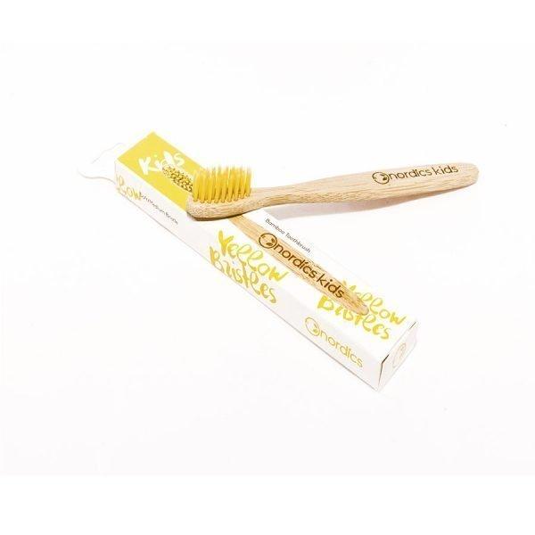 Kids' yellow bristles